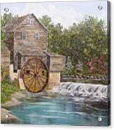 Pigeon Forge Mill Acrylic Print