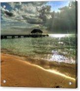 Pigeon Point Beach Tobago Acrylic Print