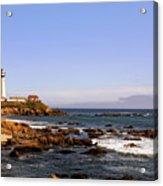 Pigeon Point Lighthouse Ca Acrylic Print