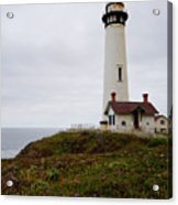 Pigeon Point Lighthouse II Color Acrylic Print