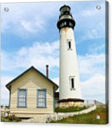 Pigeon Point Lighthouse View Acrylic Print