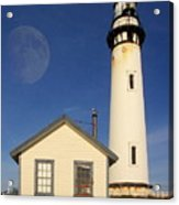 Pigeon Point Lighthouse Acrylic Print by Wingsdomain Art and Photography