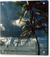 Pigeon Point On Tobago Acrylic Print