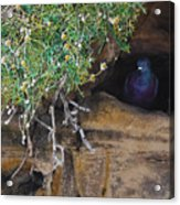 Pigeonholed Acrylic Print