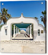 Piges Kallitheas In Rhodes - Greece. Acrylic Print
