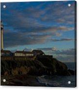 Pigon Point Lighthouse Acrylic Print