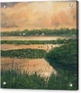 Pike Lake Acrylic Print