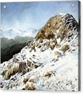 Pike O' Stickle Acrylic Print