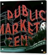 Pike Place Market Entrance 5 Acrylic Print