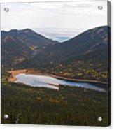 Pikes Peak Manitou Colorado Lake Acrylic Print