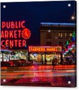 Pikes Place Market Acrylic Print