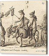 Pilgrimage To French Bucholz Acrylic Print