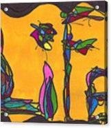 Pillar Of Life Acrylic Print