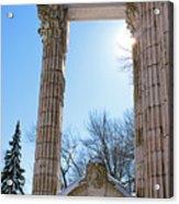 Pillars Of Hercules - The Guild Inn Acrylic Print
