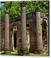 Pillars Acrylic Print