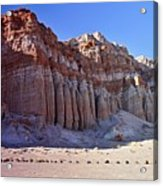 Pillars, Red Rock Canyon State Park Acrylic Print