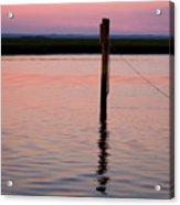 Pilon In Sunset Acrylic Print