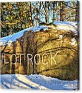 Pilot Rock Iowa Acrylic Print