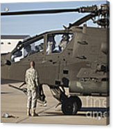 Pilots Prepare For Their Mission In An Acrylic Print