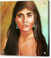 Pima Maiden Acrylic Print