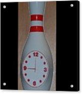 Pin Clock Acrylic Print