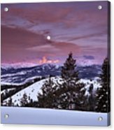 Pine Creek Pass Acrylic Print