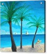Pine Island Lady  Acrylic Print