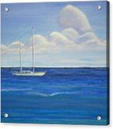 Pine Island Sailboat Acrylic Print