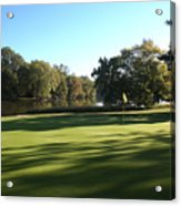 Pine Ridge Golf - Beautiful 14th Par 3 Acrylic Print