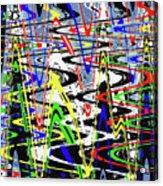Pine Tree Abstract ,3448wt Acrylic Print