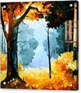 Pine Wood Acrylic Print