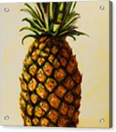 Pineapple Angel Acrylic Print by Shannon Grissom