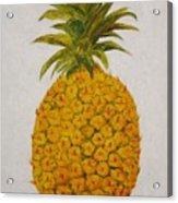 Pineapple Princess Acrylic Print