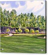 Pinehurst Golf Course 17th Hole Acrylic Print
