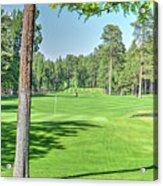Pinetop Country Club - Hole #18 - Photos Acrylic Print