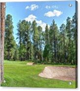Pinetop Country Club Photos Acrylic Print