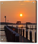 Piney Point Sunrise Acrylic Print