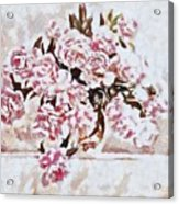 Pink And Beautiful Acrylic Print