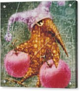 Pink  Apples Acrylic Print