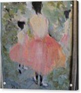 Pink Ballet Acrylic Print