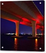 Pink Bridge 2 Acrylic Print