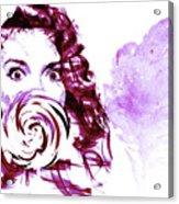 Pink Candy Acrylic Print