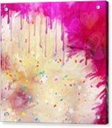 Pink Celebration Acrylic Print