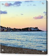 Pink Clouds Over Sicily Acrylic Print