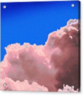 Pink Cluod Acrylic Print