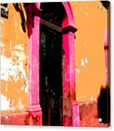 Pink Door 1 By Darian Day Acrylic Print