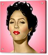 Pink Dorothy Acrylic Print