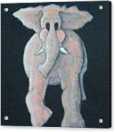 Pink Elephant 1 Acrylic Print
