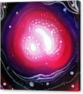 Pink Flash Of Energy. Sweet Dreams. Astral Vision Acrylic Print