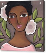 Pink Flower 2 Acrylic Print